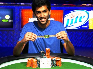 Sandeep Pulusani Wins WSOP $3,000 No Limit Hold'em