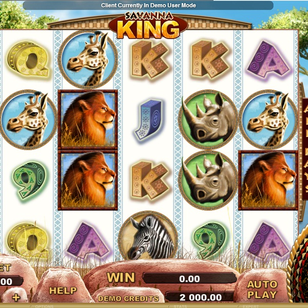 Genesis Gaming Invites Players on Safari in Savanna King Slot