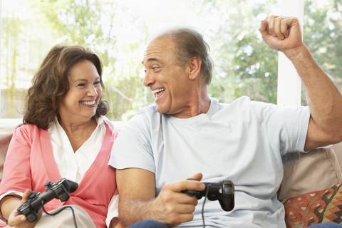Seniors Who Play Video Games Enjoy Better Mental Health