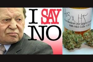 Sheldon Adelson Donates Towards Anti-Pot Measure