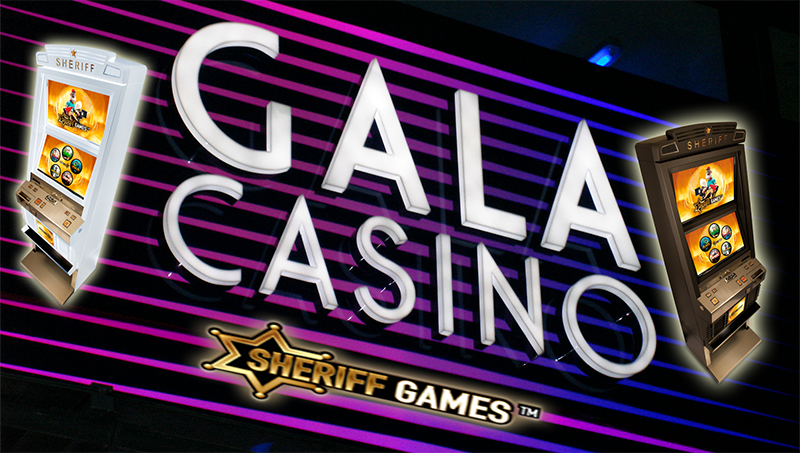 Sheriff Gaming Signs Deal with Gala Coral