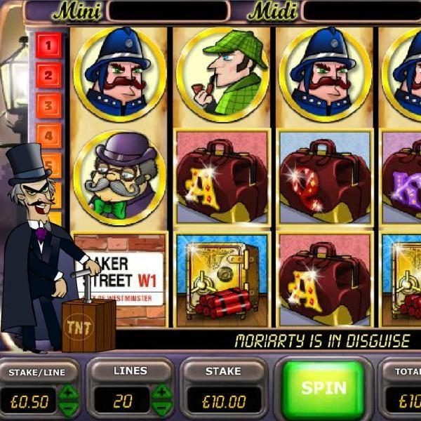 Paddy Power Casino Sherlock's Reel Mystery Video Slot Jackpot Exceeds £41K