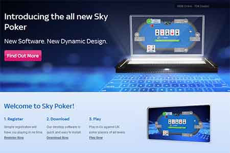 Sky Poker Launches Major Software Upgrade