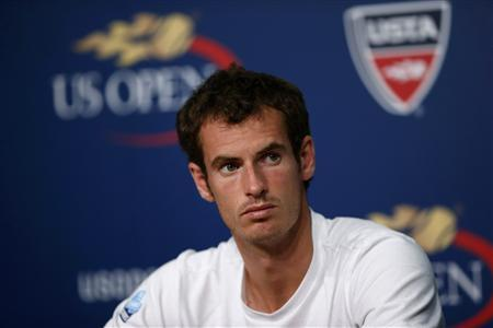 Murray Scrapes Through US Open Opener Suffering From Cramp