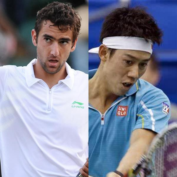 Nishikori and Cilic Reach US Open Final Following Surprise Wins