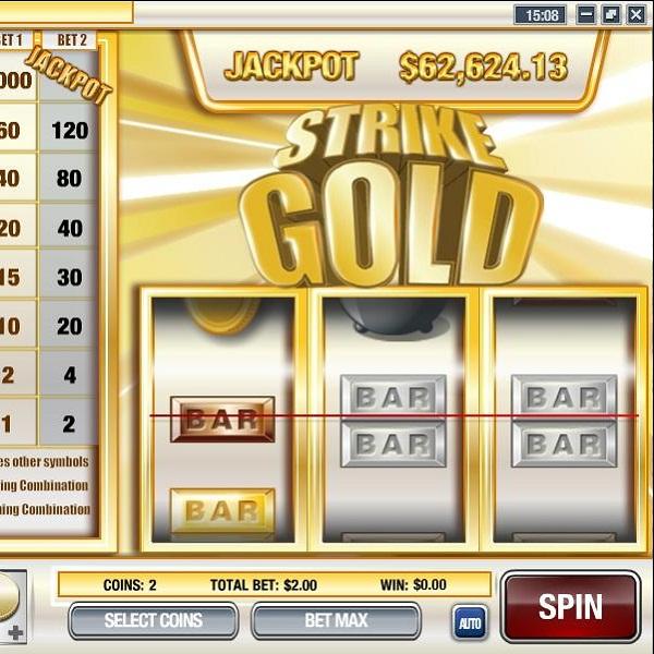 $66K Strike Gold Slot Progressive Jackpot Available at Vegas Regal Casino