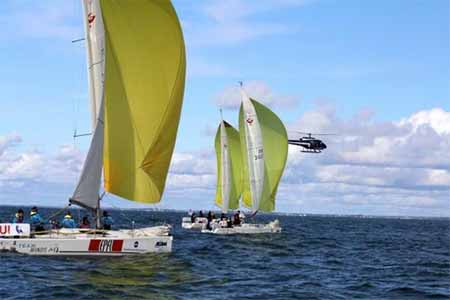 Student Yachting World Cup Underway in France