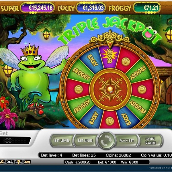 Redbet Casino Super Lucky Frog Video Slots Offers €104K