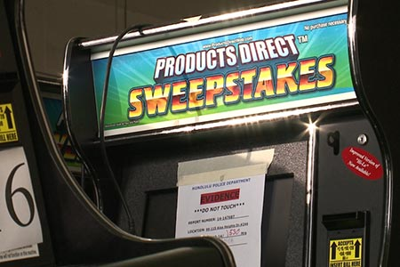 Sweepstakes Machines Lead to Arrests in Honolulu
