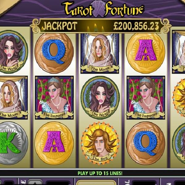 Tarot Fortune Progressive Jackpot at Virgin Casino Approaches £80K