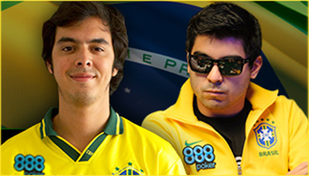 Team 888poker Signs Two Brazilian Players