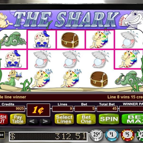 Bodog Casino's The Shark Video Slot Offers $44K