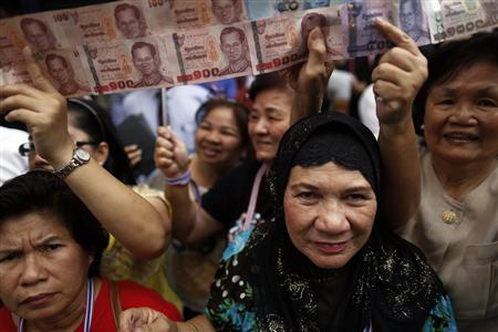 The Thai Baht Rises Alongside Stocks Amid Growing Confidence