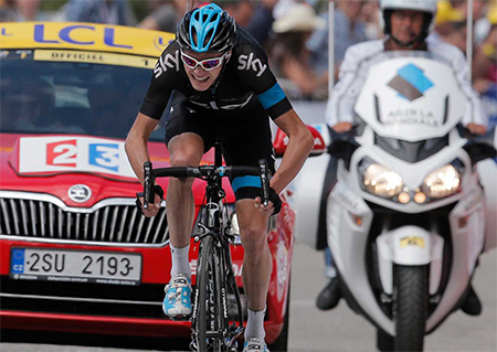 Tour de France Favourite Wins Eighth Stage