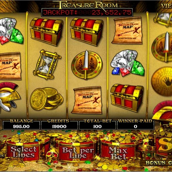 Treasure Room Video Slots at Mr Green Casino Offers €50K