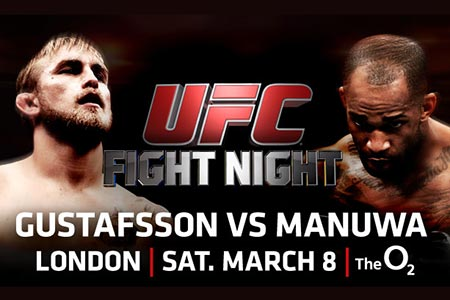 UFC Fight Night 37, Gustafsson vs Manuwa. Don't Miss This One!