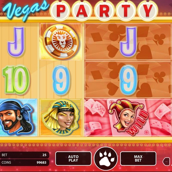 Enjoy a Night Out with NetEnt's Vegas Party Slot