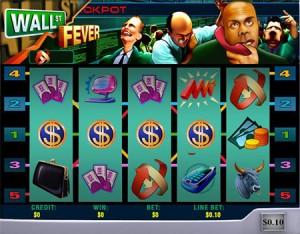 Wall Street Fever Progressive Jackpot Hit