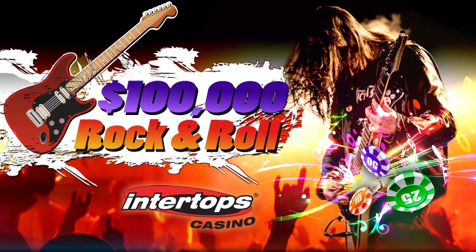 Win $30,000 in Intertops Casino's Rock and Roll Hall of Fame Promotion