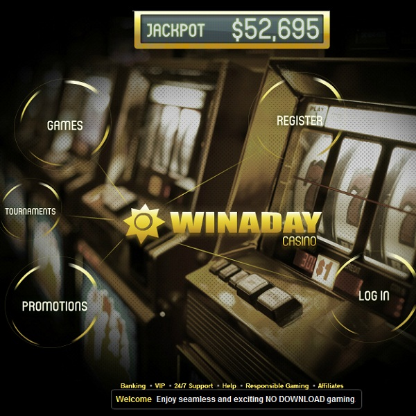 Win A Day Progressive Jackpot at Win A Day Casino Exceeds $200K