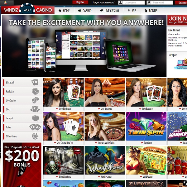 WinBiz Casino Goes Live With Winning Opportunities