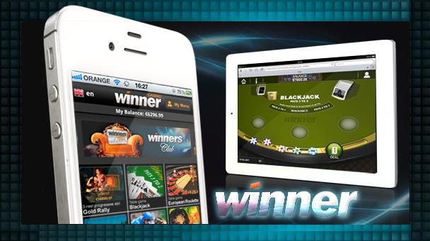 Winner Casino Launches Winner Mobile