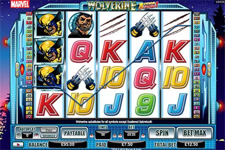 Wolverine Is Game of the Month at Winner Casino