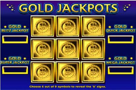 Gold Mega Jackpot Pays Out $623,214