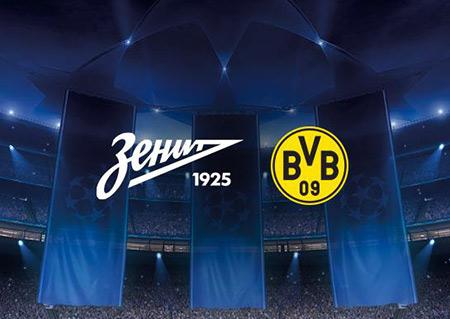 Zenit St Petersburg vs Borussia Dortmund Champions League Preview