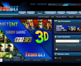New Online Casino – TeamBet Casino