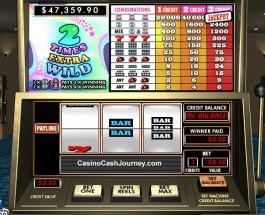 $115K 2 Times Extra Wild Progressive Jackpot Available at 888 Casino