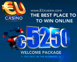 $5250 Welcome Bonus at the EU Casino