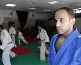 Palestinian Judoka Prepares for Olympic Appearance