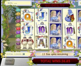 £106K Adventures in Wonderland Video Slot at Paddy Power Casino