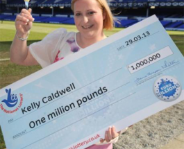 Air Stewardess Wins £1 million on EuroMillions