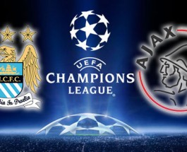 Ajax at 106/13 Odds Against Manchester City