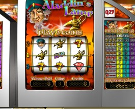 €3.1M Jackpot Available from Aladdin's Lamp €5 at Casino Club