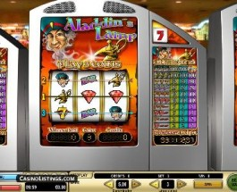 Aladdin's Lamp €5 is offering €3.096 million Jackpot
