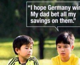 Anti-Gambling Ad in Singapore Fails Due to Germany Win