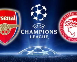 Arsenal vs Olympiacos Betting Odds