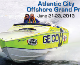 Atlantic City to Host Powerboat Event