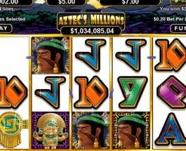 Vegas Casino Online Offers $1.6M Aztec Millions Progressive Jackpot
