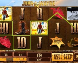 Become a Cowboy with John Wayne Slots