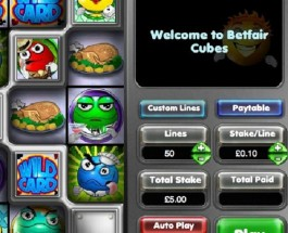 Betfair Casino Cubes Progressive Jackpot Approaches £280K