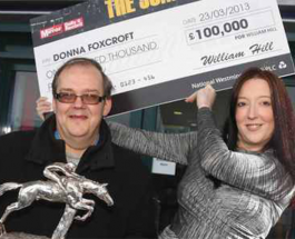 Betfred Staff Win £100,000 at William Hill