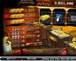 Jackpot City's Bullion Bonanza Video Slot Exceeds £12K