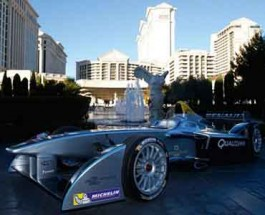 CES Crowd Treated to First Formula E Public Demonstration