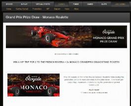 Win a Trip to the Monaco Grand Prix at BetVictor