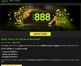 Log In To 888 Casino Today to Win a Bonus