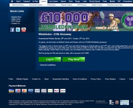 Betfred Casino Celebrates Wimbledon with £10K Giveaway